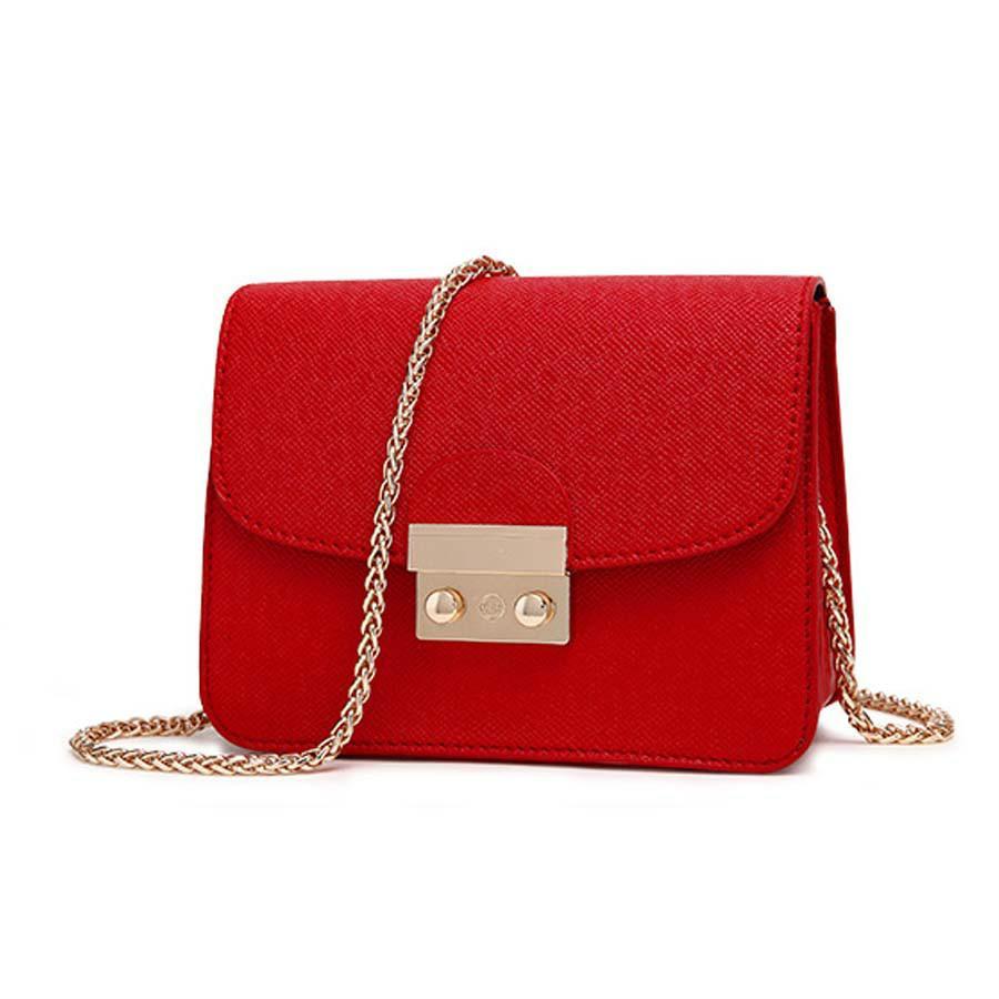 d1d411d3ed37 Women Fashion Small PU Leather Messenger Bag Clutch Bags Designer Mini Shoulder  Bag Women Handbag Hot Sale Bolso Mujer Purse Handbag Sale Side Bags From ...