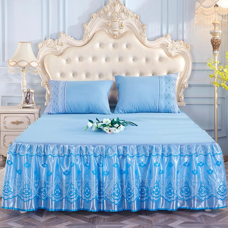 Princess Bed Skirt Lace Mattress Cover 45cm Deep Summer Korean Style