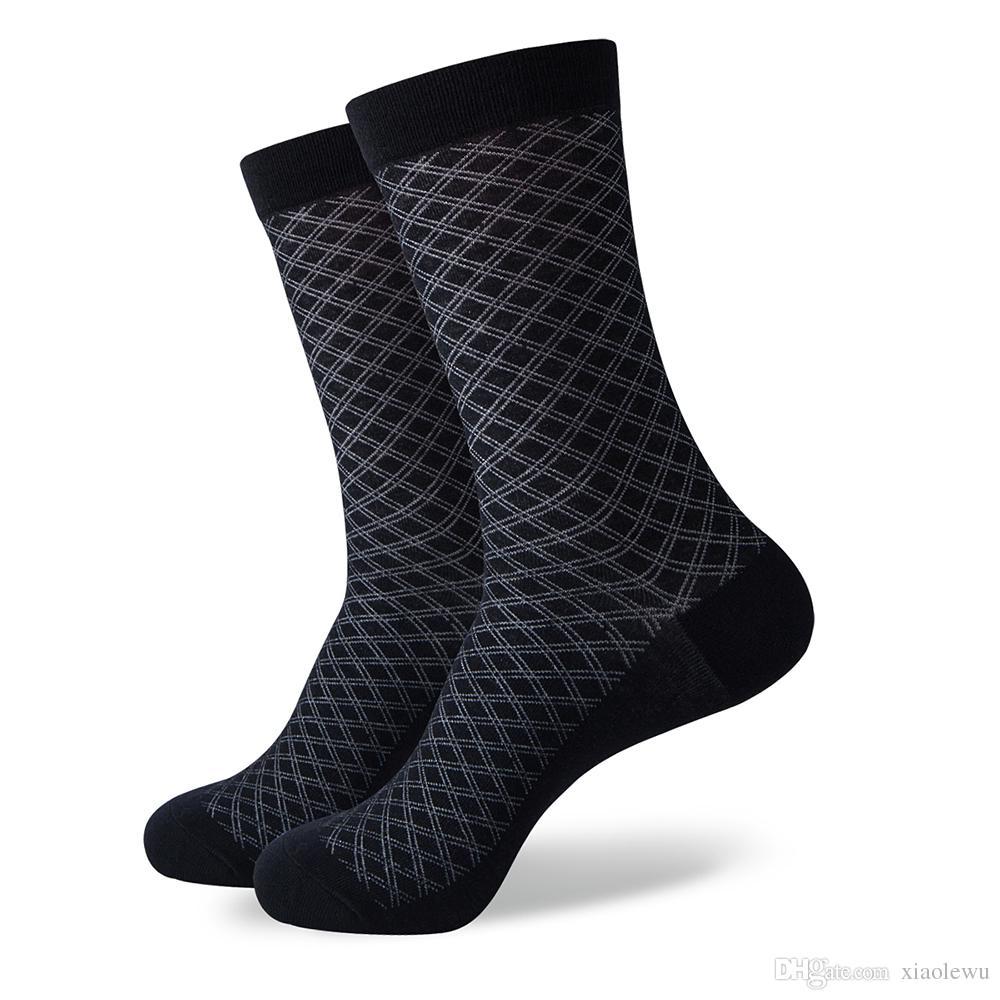 Maç-up erkek çorapları renk pamuk iş elbisesi rahat komik uzun çorap /