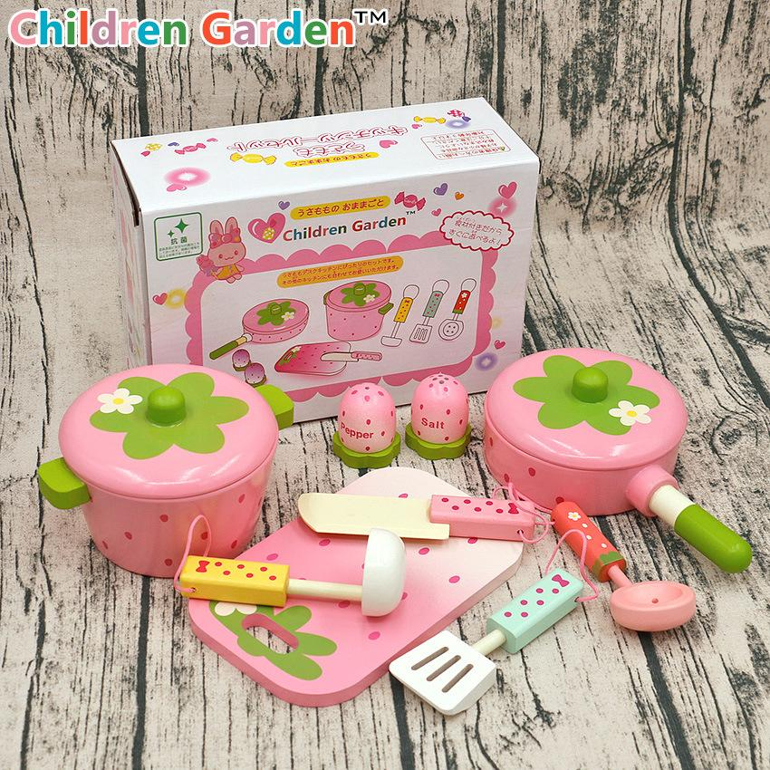 2018 Baby Toys Pink Wooden Kitchen Kids Pretend Play Cooker Saucepan Stewpot House Birtherday Gift From Universecp 50 3 Dhgate Com