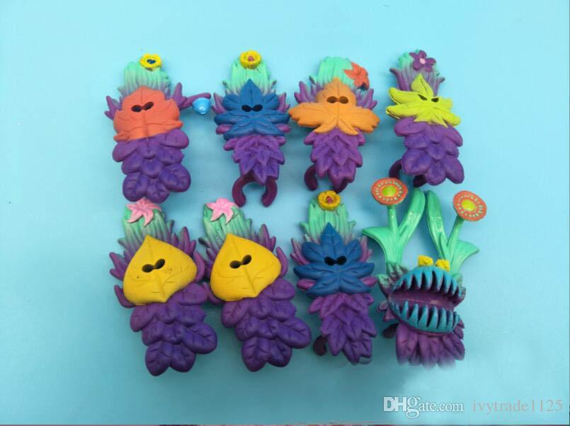 24шт набор Смурфиков потерянная деревня эльфы папа Смурфетта неуклюжие фигурки тайна маска торт цилиндр играть набор игрушек