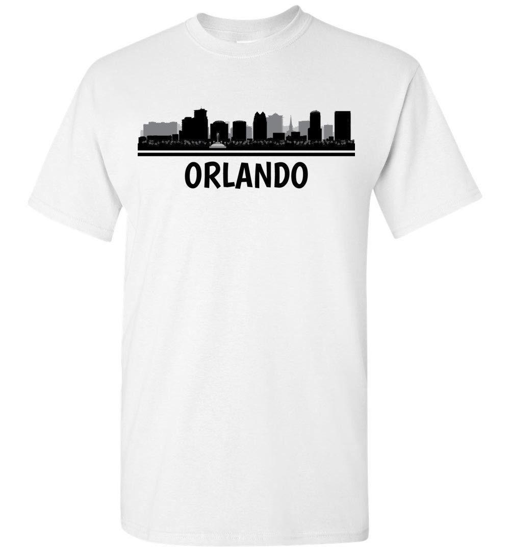 c3e6e6e231e Orlando Skyline T Shirt