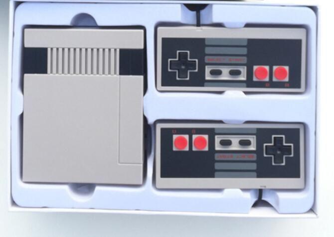 Mini TV Consola de videojuegos portátil para juegos de NES con los rectángulos de venta al por menor