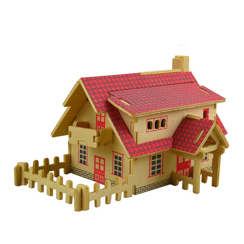 Doll House Furniture Diy Miniature Dust Cover 3d Wooden Miniaturas