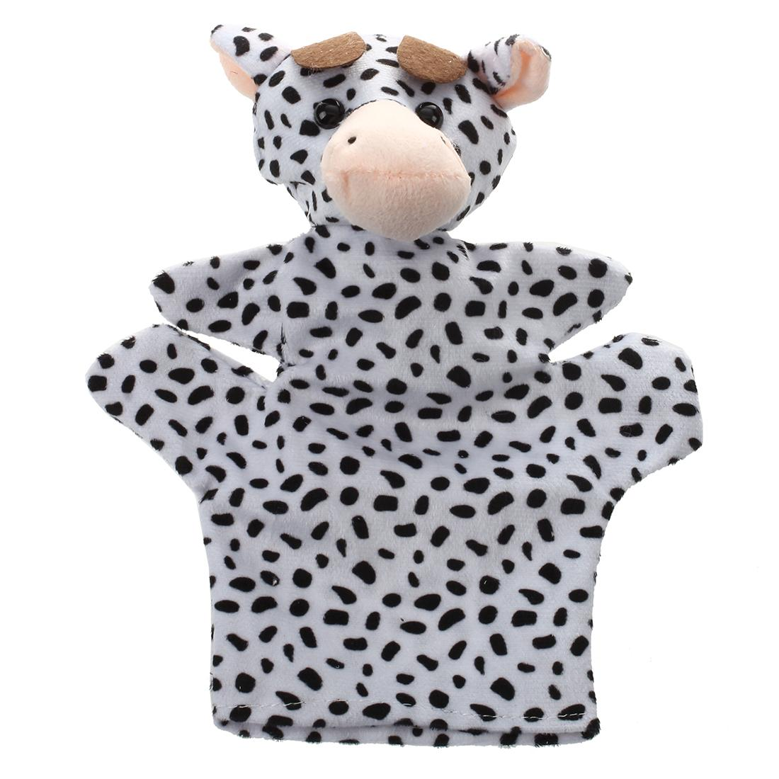 New Cute Baby Child Zoo Farm Animal Hand Sock Glove Puppet Finger Sack Plush Toy New