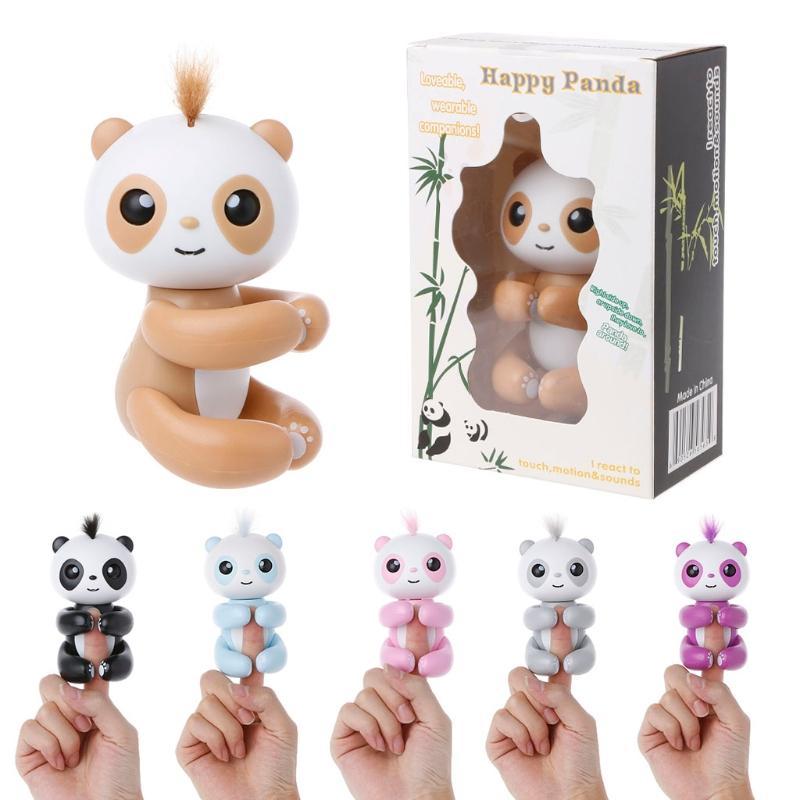 Smart Regalo De Pet Finger Baby Niños Navidad Juguetes Panda Interactivo Inducción Para jAL354R