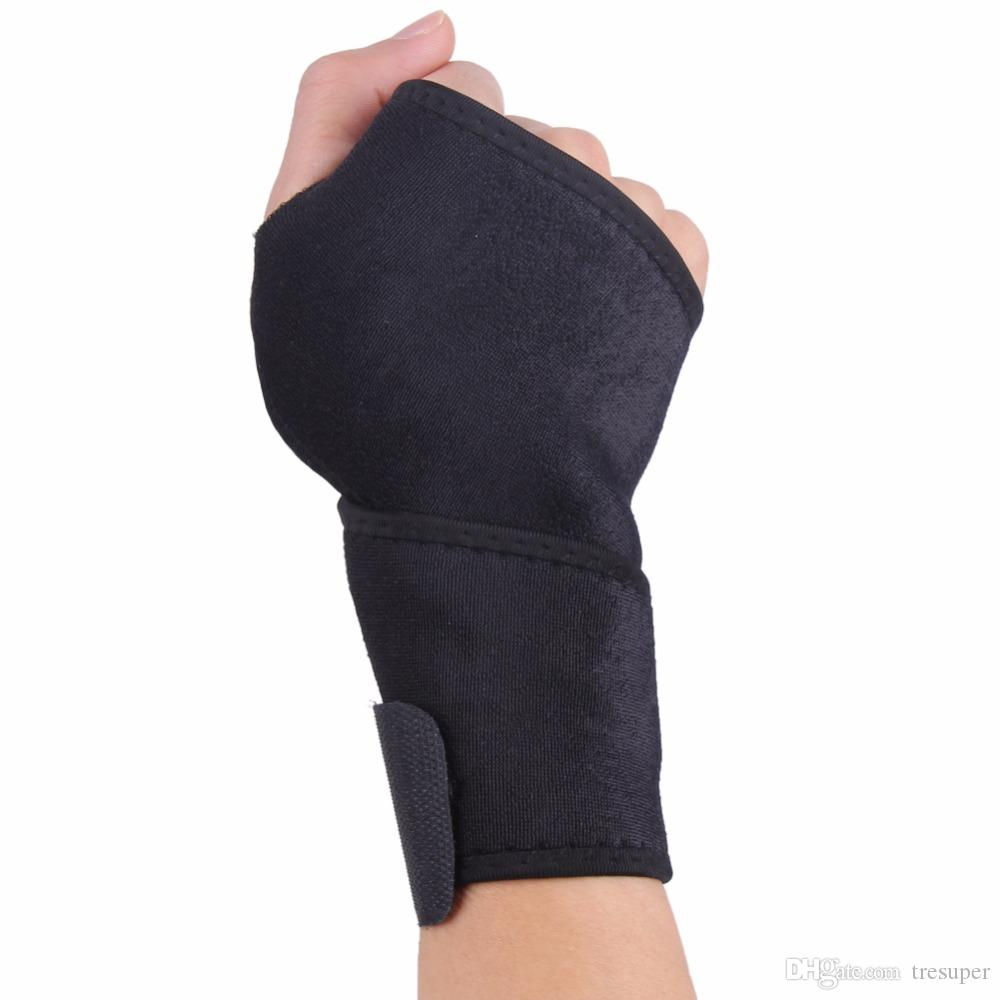 Adjustable Weight Lifting Sports Wristband Gym Wrist Thumb Support Straps Wraps Bandage Fitness Training Safety Hand Bands