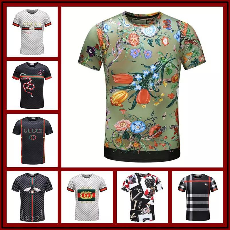b17f9d8a 2018 Mens Summer Tee New Man BOSS T Shirt Short Sleeve Polo T Shirt Printed  Cotton T-shirts Men 3D Designer Clothing Size M-3XL Online with  $58.69/Piece on ...