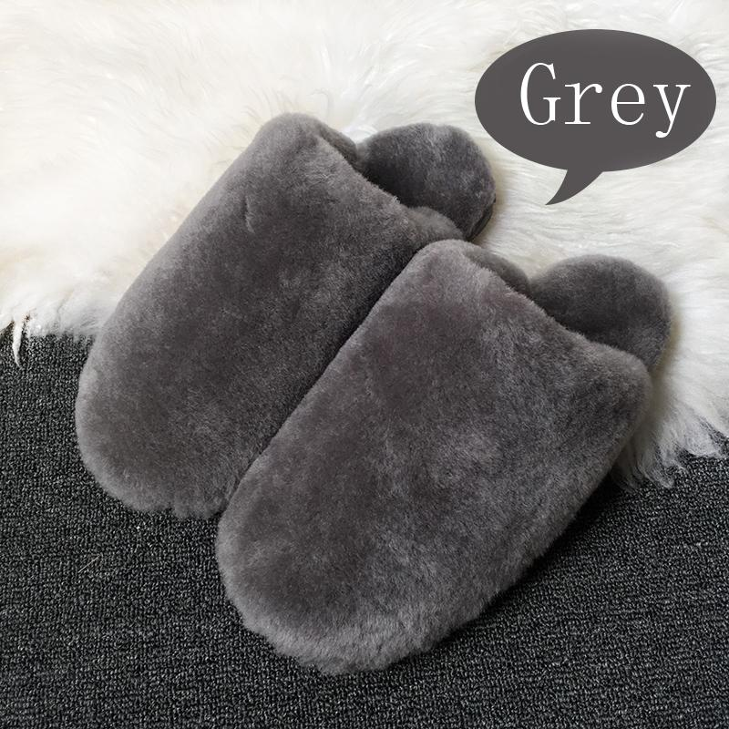c4e67b82d81 15 Color Winter Warm Cute House Slippers Women Indoor Fashion Furry  Sheepskin Slippers Unisex Home Men Free Shipping