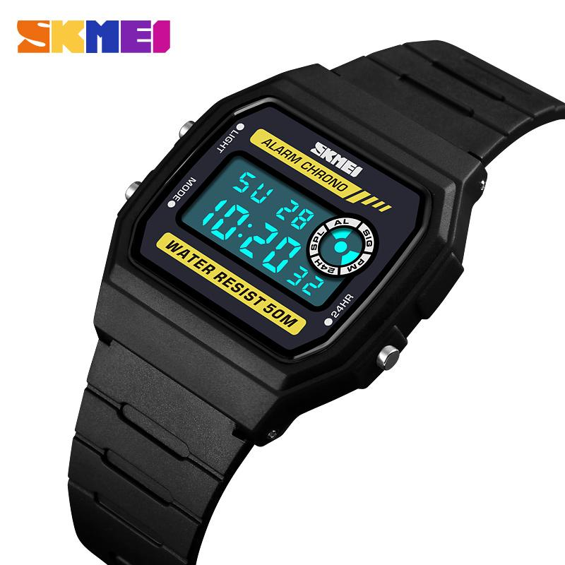 Watches Strict 2018 New Square Watch Silicone Led Watches 24 Hours Date Bracelet Digital Sports Wristwatch Gift For Children Student Kids #w Buy Now