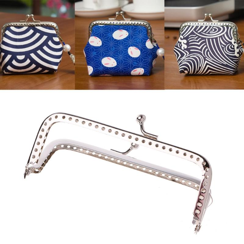 2019 2018 Women Metal Frame Kiss Clasp Arch 8.5cm Handle For Handbag Sewing  Holes Clutch Coin Purse Bag Accessories Fashion New From Bking f71fc269a46a4