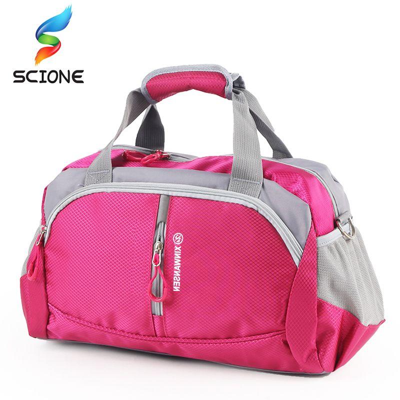 2019 Hot Professional Top Nylon Waterproof Sports Gym Bag Women Men For Gym  Fitness Training Shoulder Travel Handbag Yoga Bag Luggage From Qingfengxu 0937ed5ed8e20