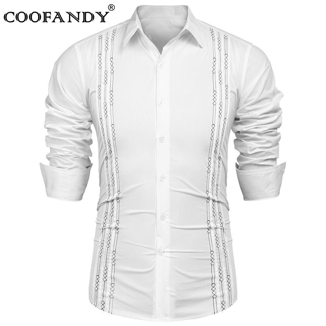 Business Turn Spring Down Sleeve Embroidery Collar Black Khaki