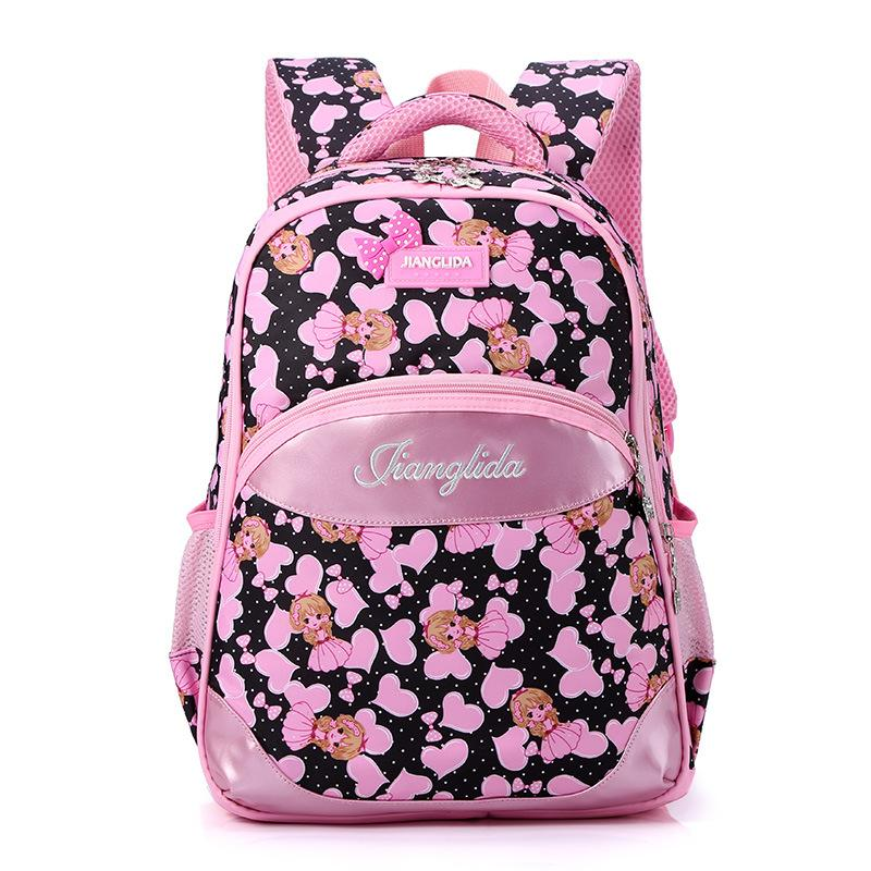 057a330f451 Children School Backpack Girls Pink Princess Large Capacity Students School  Bags Waterproof Kids Luggage Teenager Outdoor Bags