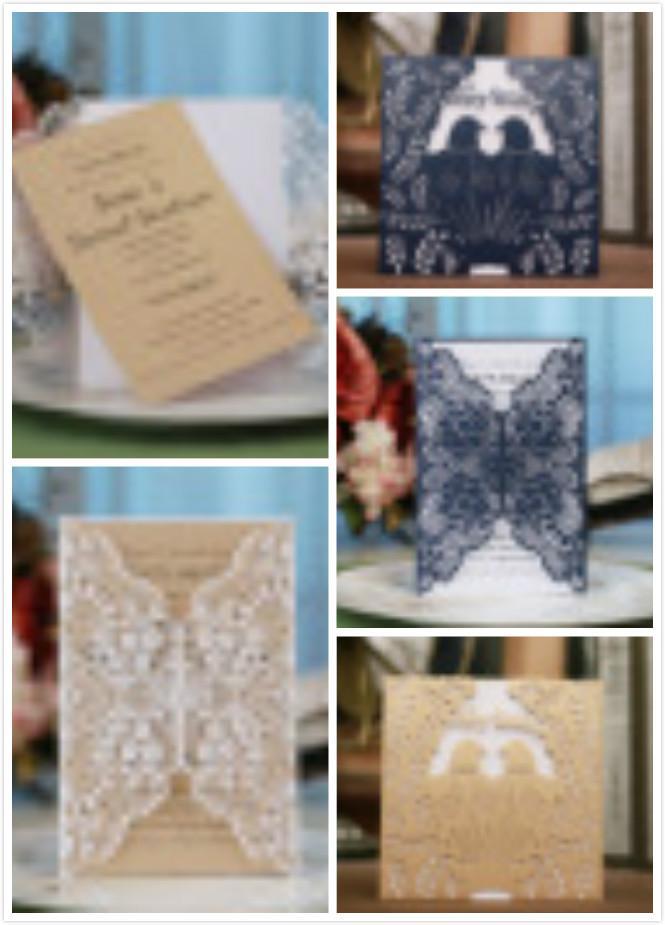 Großhandel Hohlen Papier Handwerk Kreative Hochzeit