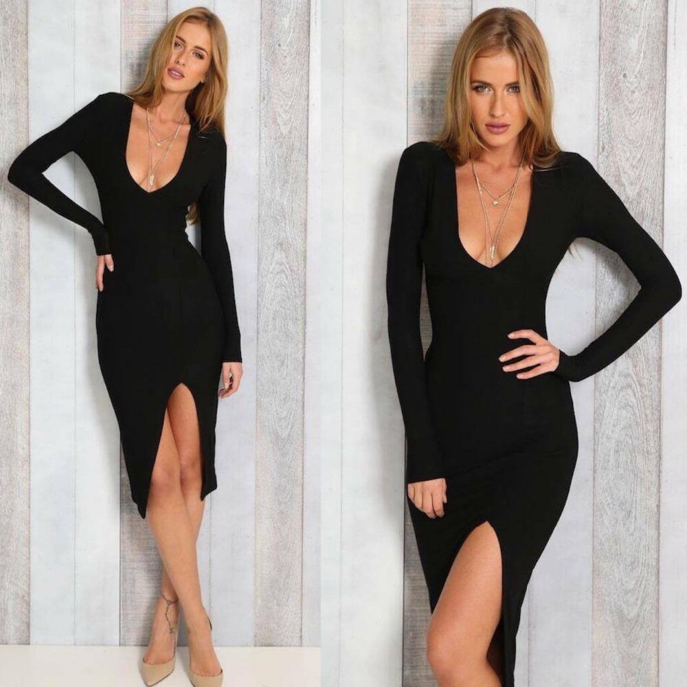 b9cc7e0b65 Ukraine 2018 Rushed Dress Vestidos De Fiesta Free Shipping Woman Europe  Fall Explosion Sexy Fashion Temperament Ol Long Sleeved