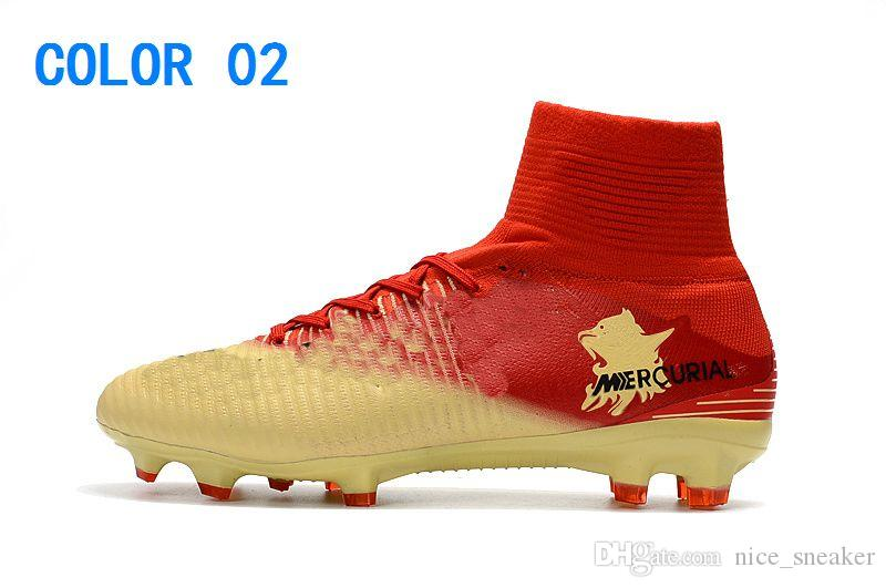 new style c74d4 a3e56 2019 2018 New Cheaper Mercurial Superfly V FG Men'S Soccer Shoes Top Men  Mercurials Superfly V FG Football Shoes Soccer Boots ACC Soccer Cleats From  ...