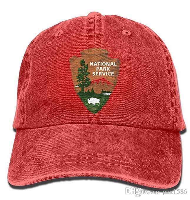 d53b8f79149 US National Park Logo Baseball Caps Patriotic Top Quality Vintage Snapbacks  For Men Womens Baseball Hats Cheap Snapback Hats From Pzx1586