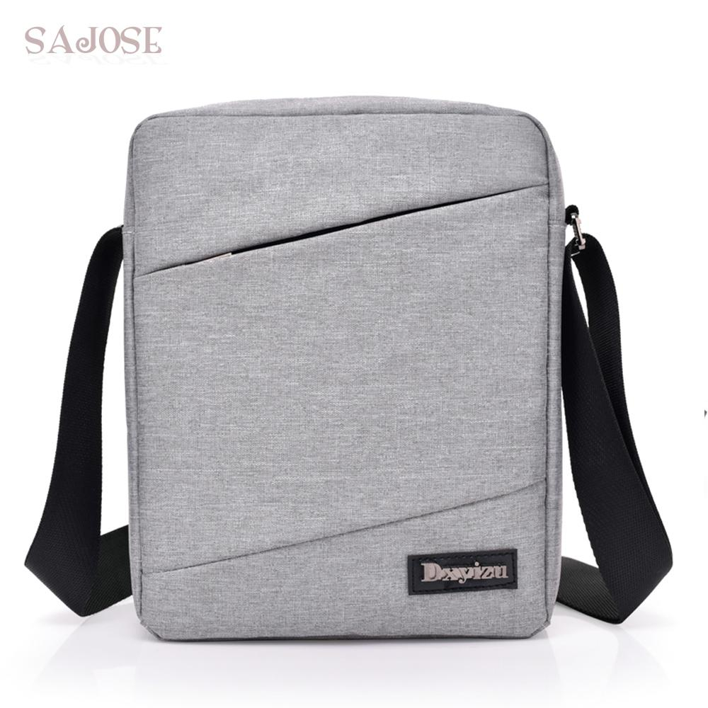 ffee8a3457 Unisex Fashion Simple Crossbody Bags For Man Leisure Gray Canvas Man S  Handbag Women Shoulder Messenger Bags Drop Shipping Cross Body Purse Hobo  Handbags ...