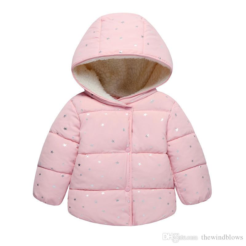 aeec06d92f32 2018 Autumn Spring Winter For Girls Jackets Baby Coat Kids Warm ...