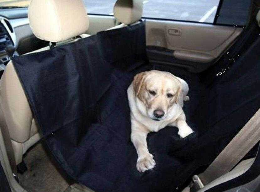Car Pet Seat Covers Mats - Pet carriers Oxford Fabric Paw pattern Back Bench Seat Travel Accessories Car Seat Covers Mat