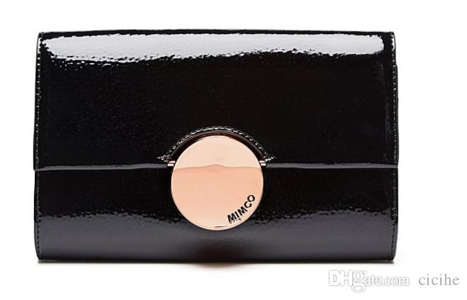 quality design a86b3 5ee25 MIMCO WAVER EXTRA LARGE WALLET Black Rose Gold/Black Gunmetal/Praline