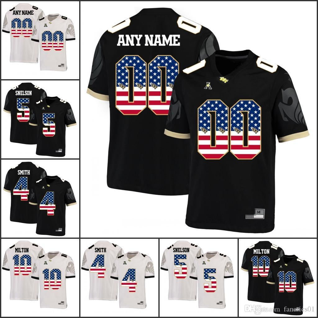 2019 National Flag Custom NCAA UCF Knights College Football Any Name 18 SM. Griffin 10 McKenzie Milton 26 Otis Anderson TreQuan Smith Jerseys From  Fanatics01 ... daa1ea49d