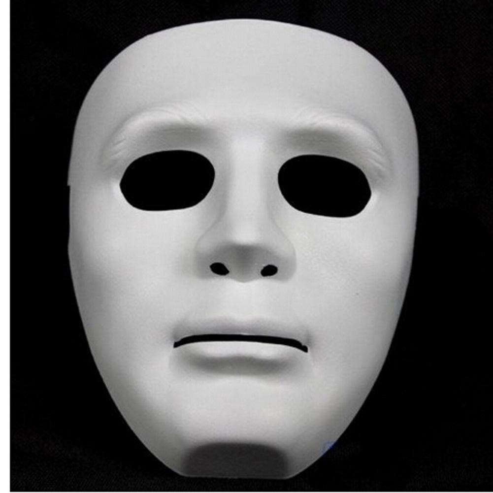 Halloween Party DIY Scary Masks White Full Face Cosplay Masquerade Mime Mask  Ball Party Costume Masks Black Masquerade Masks For Women Black Party Mask  From ... ec0c1575ab