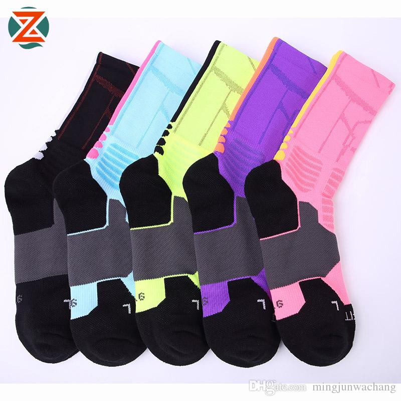 0048f2c209 Elite New Professional Sports Basketball Socks GYM Outdoor Cycling ...
