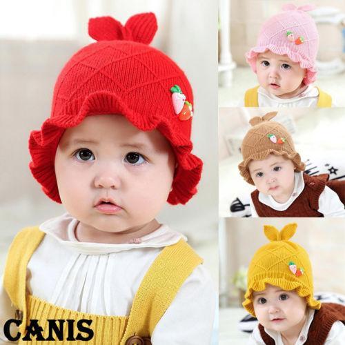 fbfd656bc 2019 Cute Toddler Kids Girl Boy Baby Infant Winter Warm Crochet Knit ...