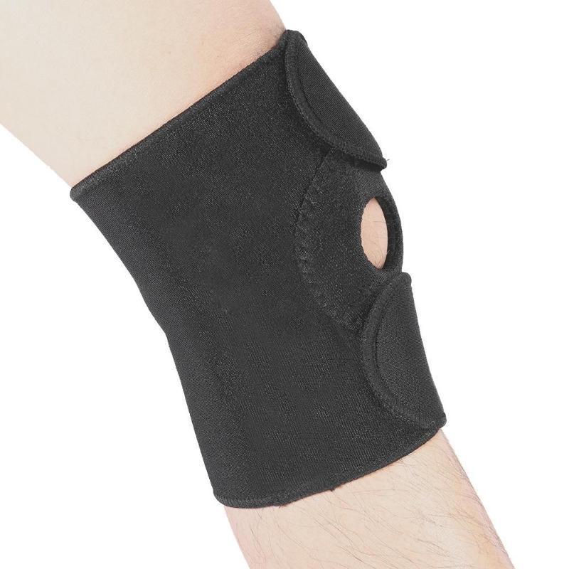 ac30eac677 Adjustable Elastic Knee Support Brace Breathable Kneepad Patella ...