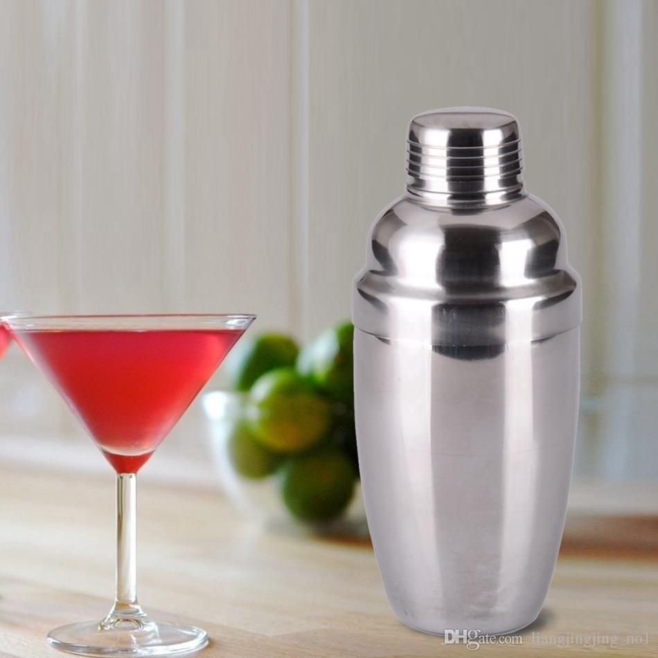 En Acier Inoxydable Cocktail Shaker 510 ML Bar Vin Martini Boisson Mélangeuse Partie Barman Outil Barre de Fête Outil OOA4625