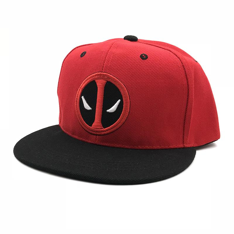 d5cf7778e0b201 Fashion Comic Marvel Deadpool Hat Snapback Bone Aba Reta Costumes Cotton  Baseball For Men Women Sports Hip Hop Cap Hats For Sale Neweracap From ...
