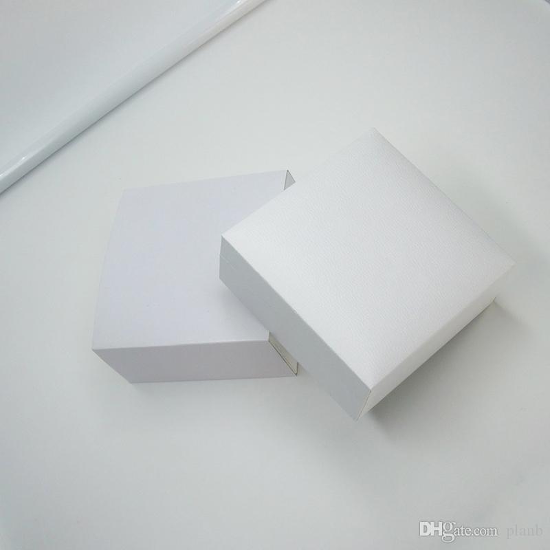 Белые квадратные черные бархатные ювелирные изделия дисплей коробки упаковки для Pandora Charms стиль браслет ожерелье оригинальный коробка День святого Валентина подарочные пакеты