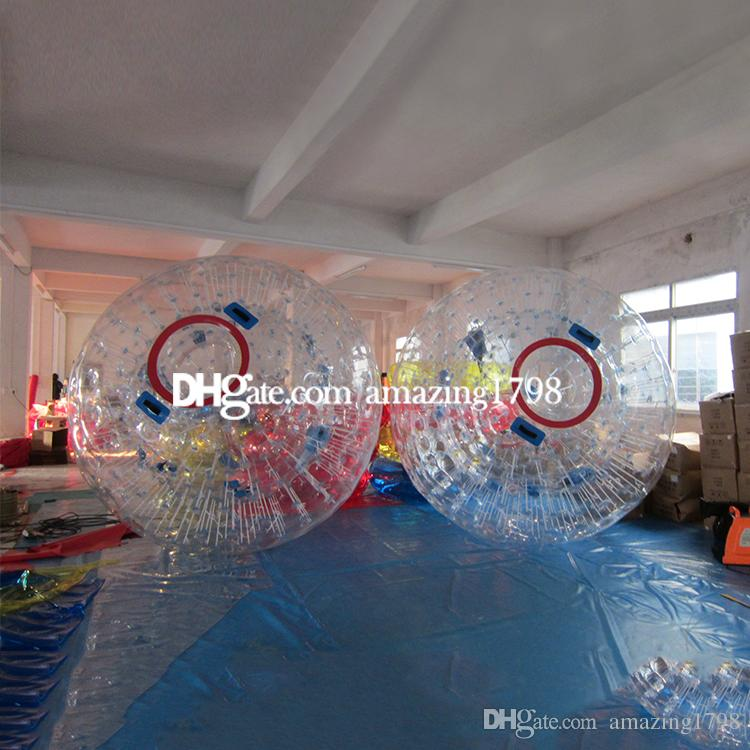 Free One Pump Dia 3M Commercial Land Zorb Ball Zorb Ball For Land and Water Human Hamster Zorb Ball