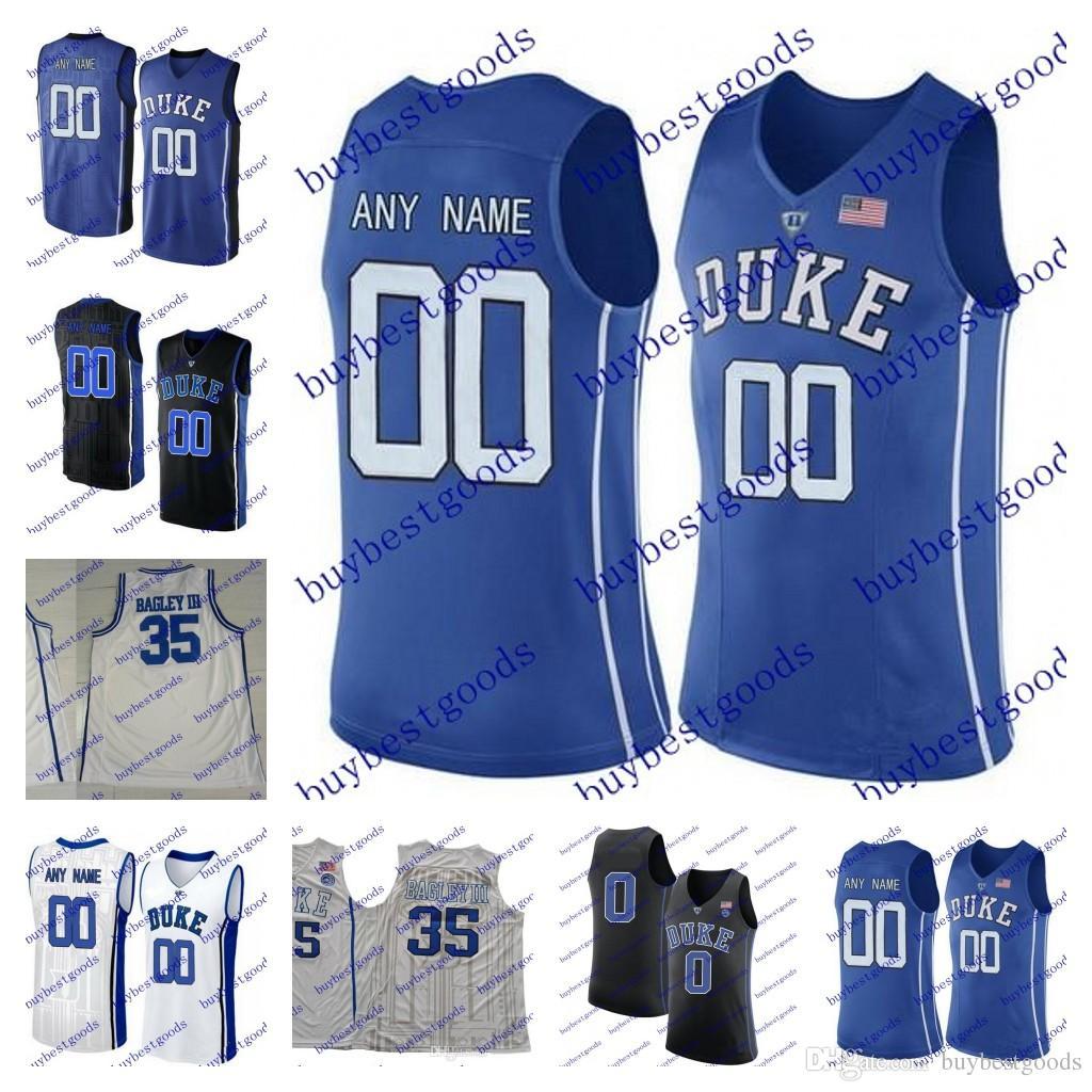 2019 Duke Blue Devils Custom Ncaa College Basketball Jerseys