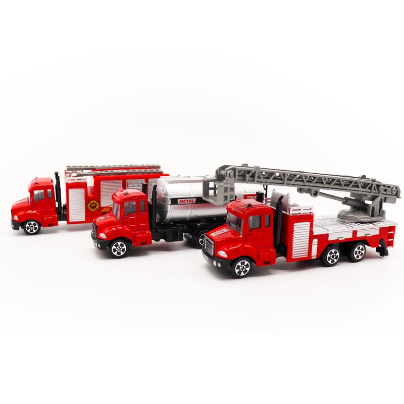 1:20 alloy engineering vehicles,high simulation Fire truck,fire  ladder,climbing car,children's educational toy car,free shipping