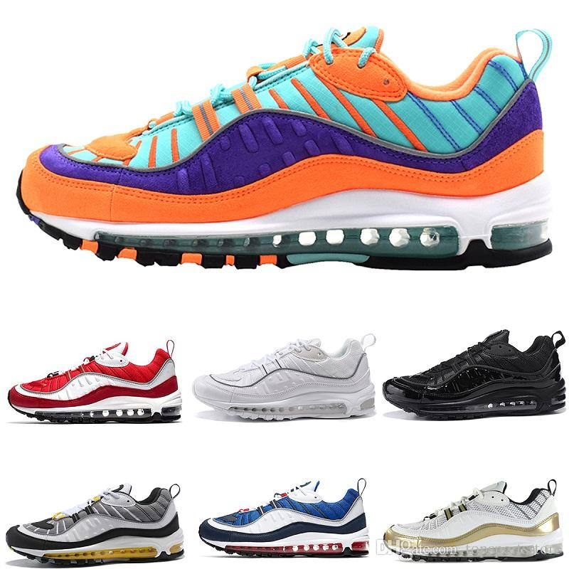 buy online 46b14 ecbdf ... order acquista with box nike air max 98 supreme airmax og 98 nuovi  arrivi uomo donna ...