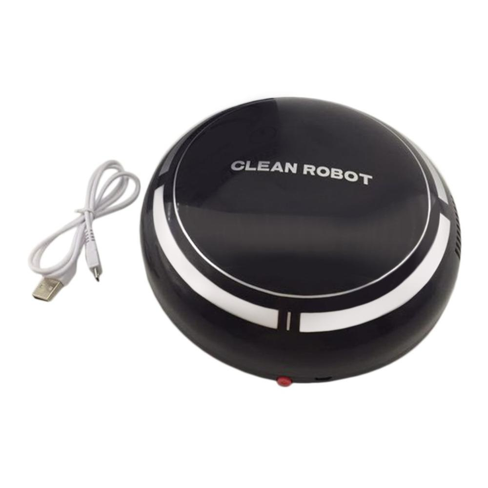 Household Mini Cartoon Rechargeable Smart Sweeping Robot Slim Sweep Suction Machine Small Mini Vacuum Cleaner Sweeping
