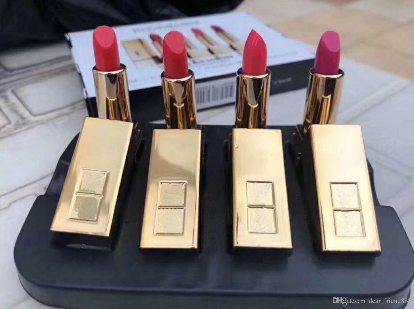 New Arrival Lipstick  Mini Size 0.85g Collection Lipstick Set 0.85g Makeup  Color N1 N13 N52 N19 Skin Care Products Black Lipstick From Dear friend888 2ba670234579