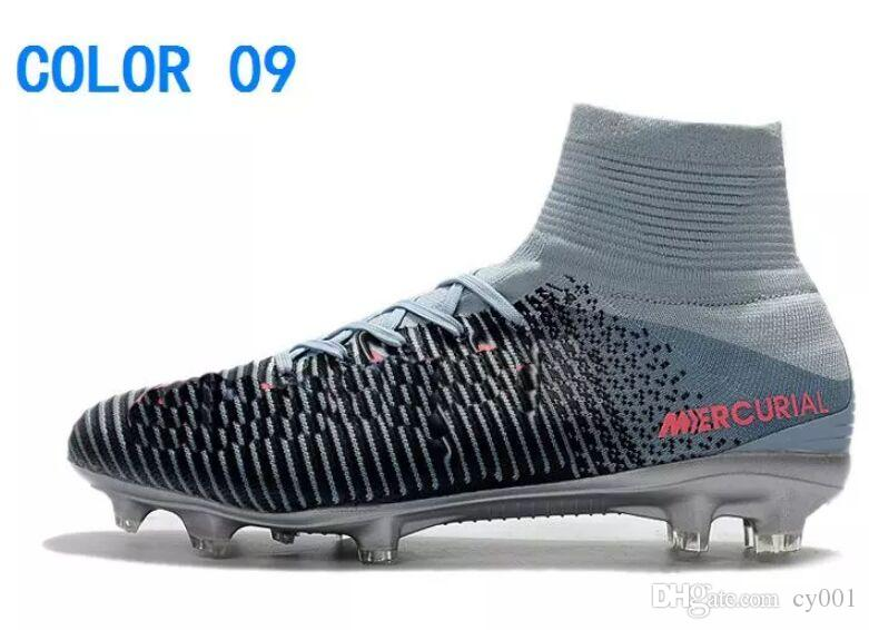 sports shoes 82d4c b4017 New Cheaper Mercurial Superfly V FG Men S Soccer Shoes Top Men Mercurials Superfly  V FG Football Shoes Soccer Boots ACC Soccer Cleats From Cy001, ...