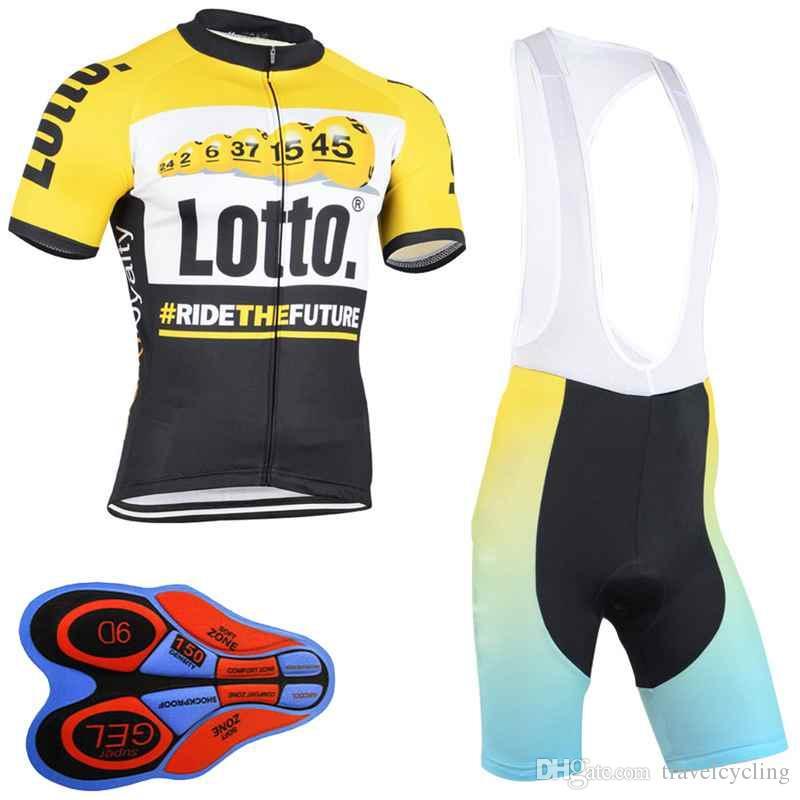 64922bfd5c Ropa Ciclismo LOTTO Hombres Camiseta De Manga Corta Ciclismo Conjunto MTB  Bike Clothing Tour De France Bicicleta De Secado Rápido Racing Ropa  Deportiva ...