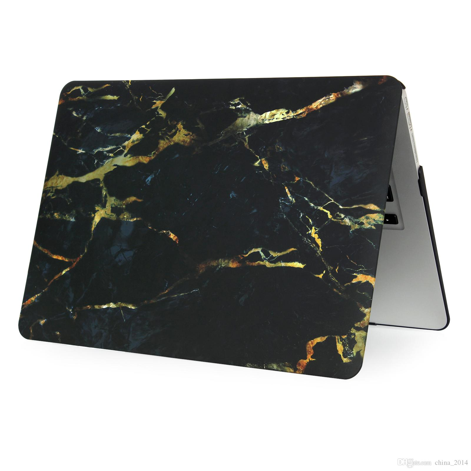Cheapest! For Macbook 11.6 12 13.3 15.4 Air Pro Retina Touch Marble pattern Cases Full Protective Cover Case DHL