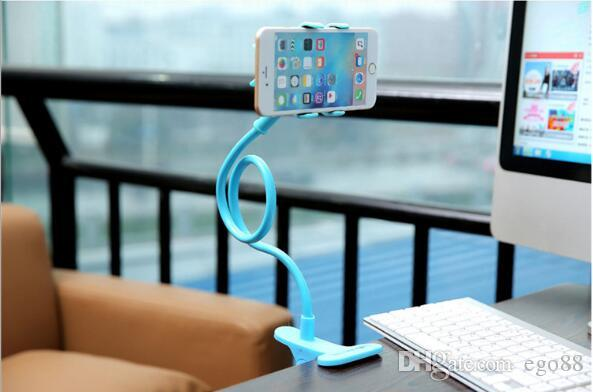Universal Lazy Bed Desktop Car Stand Mount Holder for Cell Phone 360 Degree Rotating Flexible Long Arm Lazy Bracket