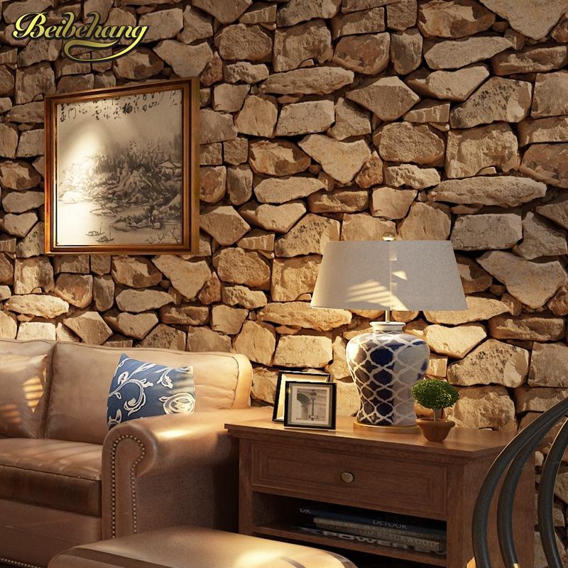 Großhandel Beibehang Papel De Parede 3D Antike Stein Wallpaper Für  Wohnzimmer Hintergrund Wandverkleidung Tapete Für Wände 3 D Boden Von  Kunnylight, ...