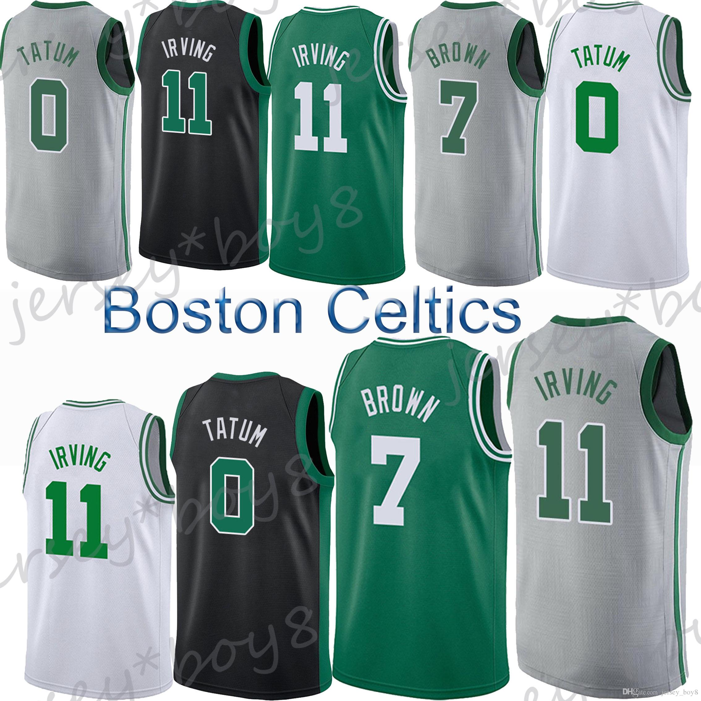 c298985c7 ... australia boston celtics 0 jayson tatum jersey 11 kyrie irving jerseys  7 jaylen brown 20 gordon