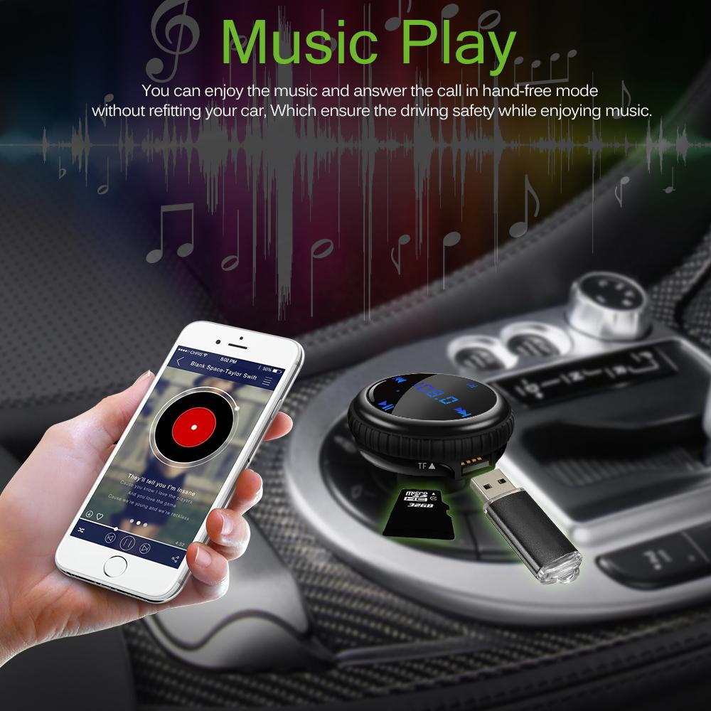 2019 Electronics Accessories Fm Transmitters Onever Transmitter Tracking With Car App Gps Location Bluetooth Kit Music Player 21a Dual