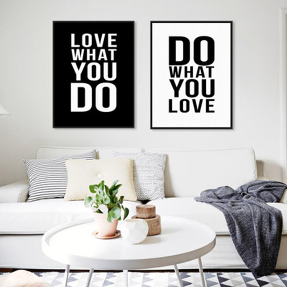 Do What You Love Inspirational Quotes Wall Sticker Motto Proverb Wall Decal  Home Decor Living Room Quote Saying Words U0026 Phrases Vinyl Wall Art Decals  Vinyl ...