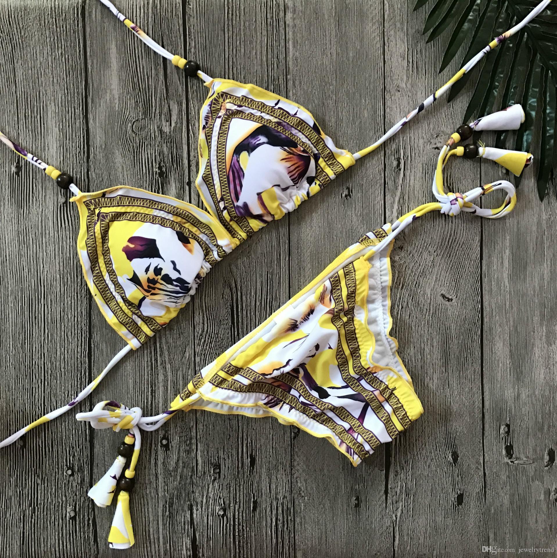 Costume da bagno di costumi da bagno di Tankinis stampato costume da bagno della signora del costume da bagno sexy caldo dell'Europa calda S0042