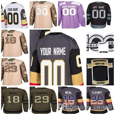 550148c8d ... usa custom mens lady kids vegas golden hockey jerseys 2018 stanley cup  final james neal 29